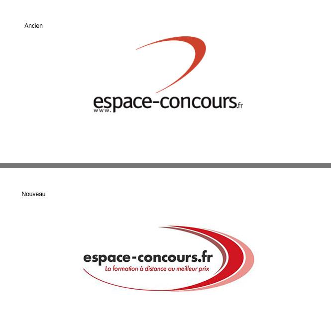Refonte du logo pour un établissement de formation à distance.