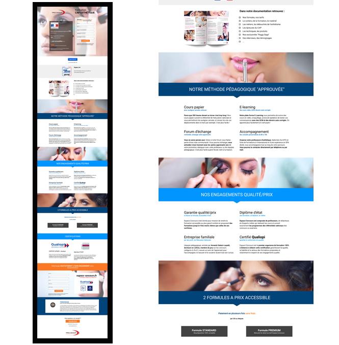 Conception de Landing Page pour une PME